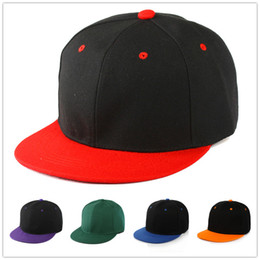 quality black blank hats Australia - High Quality Hot Selling Plain Blank Snapback hats black Snapbacks Snap Back Strapback Caps Hat Mix order free shipping
