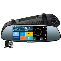 "$enCountryForm.capitalKeyWord NZ - 7"" Dash Camera Car DVR Night Vision Screen Rear View Mirror Double Lens Intelligent Navigation Electronic Dog Driving Recorder"