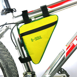 bicycle top frame bag 2019 - Bike Bag Cycling Bicycle Waterproof Top Tube Bag Front Saddle Bags Triangle Moutain Road MTB Frame Pouch Outdoor Accesso