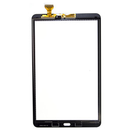 Lcd paneL repLacement for tabLet online shopping - 30Pcs For Samsung Galaxy Tab A T580 T585 Touch Screen Digitizer Panel Glass Lens T580 LCD Front Sensor Replacement
