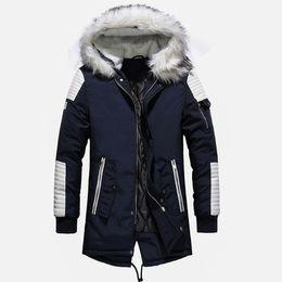 $enCountryForm.capitalKeyWord Australia - Hot Sale Warm Manteau Fur Hooded Thick Winter Men Cotton Down Jacket for Male Chaquetas Overcoat Man Outwear Parka Doudoune