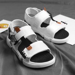 $enCountryForm.capitalKeyWord Australia - 33Outdoor sandals for men's slippers personality print Korean summer flip-flops for men's sandals slip-resistant fashion trend