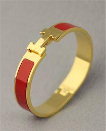 Luxus Brief Bangles Unisex Gold Gürtel Armband Mode Design Frauen Männer Armreif H Schnalle Marken Neue Armbänder mit Box im Angebot