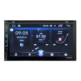$enCountryForm.capitalKeyWord NZ - 6303 WiFi Model Android 6.0 6.95 inch Full Touch Screen Universal Car DVD Player Stereo GPS Navigation Camera