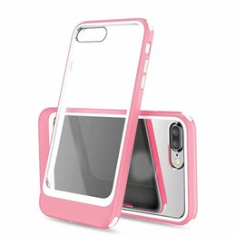 Discount tpu clear cover case - ShockProof Acrylic PC+Soft TPU Case For Iphone XS MAX XR X XS 10 8 7 Plus Armor Plastic Tough Hybrid Hard Clear Transpar