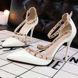 $enCountryForm.capitalKeyWord Australia - Hot Sale- red heels shoes woman extreme high heels wedding mary jane shoes italian brand rivets valentine shoes women sexy pumps stiletto