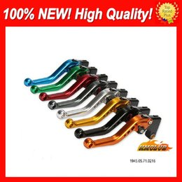 cnc lever honda NZ - 10colors Brake Clutch Levers For HONDA CBR600F 11 12 13 14 CBR600 F CBR 600F 2011 2012 2013 2014 14 CL482 100%NEW CNC Disc Handle Levers