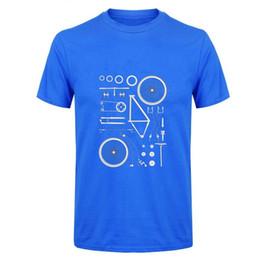 2019 mens designer t shirts Funny Tshirt Man Boy Biking Exploded Mountain  Biker Cycle MTB Tshirt Short Sleeve Crewneck Cotton Group Clothing 6f501e72c