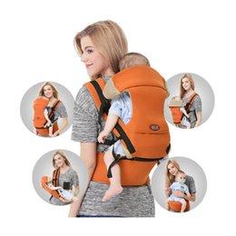 Toddler Carry Australia - 0-36m Infant Toddler Ergonomic Baby Carrier Sling Backpack Bag Gear With Hipseat Wrap Newborn Cover Coat For Babies Stroller Y190522
