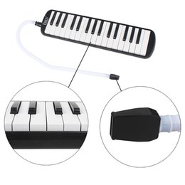 key melodica UK - 32 Piano Keys Melodica Musical Education Instrument for Beginner Kids Children Gift with Carrying Bag