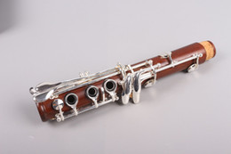 Plated Nickel Australia - New Professional Clarinet Rosewood Wood Body Nickel Plated Key B-flat 17 key Bb