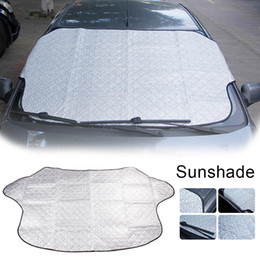 $enCountryForm.capitalKeyWord Australia - Four Seasons Universal Motors Windshield Sunshade Cover Snow Block Outdoor Folding Car Sun Visor Block Car Glass Sunshade