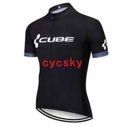 $enCountryForm.capitalKeyWord UK - CUBE 2019 Pro Summer Cycling Jersey Breathable Mountain Bike Sportswear Short Sleeve Bicycle Clothes Cycling Clothing For Man