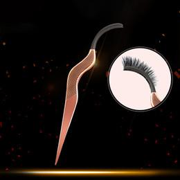 $enCountryForm.capitalKeyWord Australia - 1pcs False Eyelash Fake Eye Lash Tweezers Applicator Clip Make Up Eyelashes Tweezer Lash Curler Beauty Makeup Tool