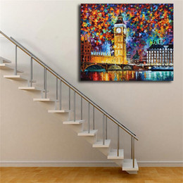 Painting Kitchens NZ - Big Ben London HD Wall Art Canvas Poster And Print Canvas Oil Painting Decorative Picture For Office Kitchen Bedroom Home Decor