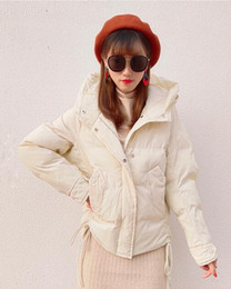 $enCountryForm.capitalKeyWord Australia - Free shipping 02 bread clothing women's short solid color hooded cotton women 2018 winter new Korean version of cotton jacket warm coat
