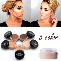 $enCountryForm.capitalKeyWord NZ - Factory Wholesale Single Face Concealer With Water Drop Puff Kit Best Beauty Face Primer Makeup Foundation Palette DHL Free Shipping