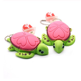 $enCountryForm.capitalKeyWord Australia - Animal Cute Tortoise USB Flash Drive 4GB 8GB 16G 32G 64G Cartoon Turtle Pen Drive Usb Stick Pen Drive Lovely Gifts Free Shipping