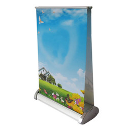 A4 posters online shopping - A4 Double Counter Top Ad Display Stand Desktop Mini Poster Stand with White Packing Carton Per Outer Carton Frame Only