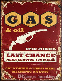 Metal Area Australia - area gas beach garage hotrod beer route66 mancave pinup girl 20*30cm motorbike metal Tin Sign Coffee Shop Bar Restaurant Wall Art deco Paint