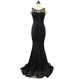 $enCountryForm.capitalKeyWord UK - Beaded Lace Mermaid Evening Dresses Abiye Elbise Long Formal Evening Gowns Party Dress Elegant Black Royal Blue Burgundy