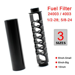 Aluminum Solvent Trap 1 2-28 5 8-24 Fuel Filter for NAPA 4003 WIX 24003 Black Gray Oil Filters on Sale