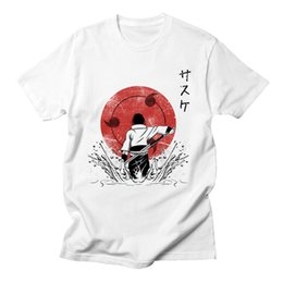 $enCountryForm.capitalKeyWord Australia - 2019Naruto Uchiha Sasuke Itachi Tshirt Men Short Sleeve Anime High Quality Streetwear Tops Summer Style Cotton Tee Shirt Men 3XL