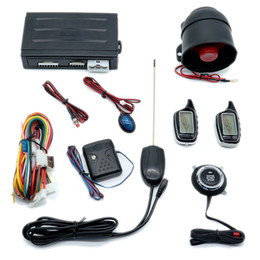 $enCountryForm.capitalKeyWord Australia - CarBest TWO-WAY LCD VEHICLE SECURITY AND ENGINE STARTER SYSTEM car alarm CARVOXX NEW-A-ONE