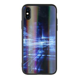 $enCountryForm.capitalKeyWord Australia - Aurora glass mobile phone shell new model for Huawei P30 for iphonex laser dazzling color protective cover to customize the drawings