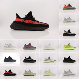 $enCountryForm.capitalKeyWord Australia - 2020 New Star Kanye West Static Clay 350 V1 V2 White Zebra Reflective Man Women Running Sneakers Original Designer Casual Shoes Basf B042