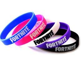 China Fortnite Battle Video Game Silicone Wristband Bracelet fortnite suppliers