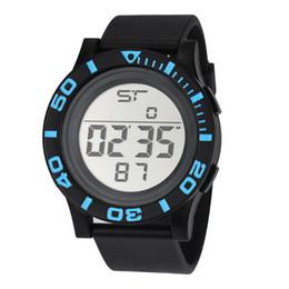Men Digital Wrist Watches Australia - 2017 NEW Fashion Men's LED Digital Date Countdown Timer Sport Quartz Wrist Watches Men Watch Clock Relogio Masculino Saat