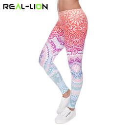 $enCountryForm.capitalKeyWord Australia - Reallion Classic 3D Print Aztec Ombre Women Leggings Fitness Running Tights Yoga Tights Elasticity Plus Size Leggins Sport Pants