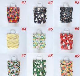 $enCountryForm.capitalKeyWord Canada - Multifunctional Baby Diaper Bags Organizer Reusable Waterproof Print Wet Dry Bag Mommy Storage Bag Travel Nappy Bag