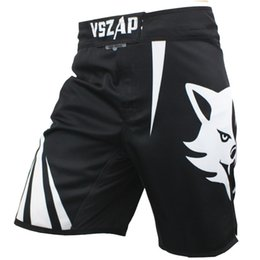 Discount mma fights shorts - Vszap Pantalon Mma Fight Boxing Shorts Motion Clothing Cotton Loose Size Training Kickboxing Shorts Muay Thai Mens Mma S