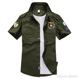 $enCountryForm.capitalKeyWord Australia - New Famous Summer Army T Shirt Brand Men Short Sleeve Fashion Casual Cotton Shirt Pilot Flight Air Force Army Tee Tshirt Tops