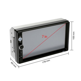 12v lcd screen NZ - Car Radio Player Mirror Link autoradio 2 din General Car Models 7'' inch LCD Touch Screen Bluetooth