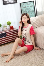 8333368ff New Womens Pajamas Hello Kitty Sleepwear For Women Pajamas Sets For Girls  Hot Sales Hello Kitty Clothing Sets Free Shipping