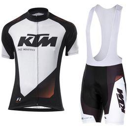 $enCountryForm.capitalKeyWord Australia - 2019 KTM Team Ale Cycling Jersey Bicycle Clothing Short Sleeve shirt 9D Pad bib shorts set Breathable Quick Dry Ropa Ciclismo