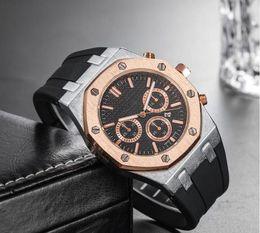 $enCountryForm.capitalKeyWord Australia - Luxury Rose Gold Men Automatic Skeleton Mens Designer Watches Wristwatches Orologio Di Lusso royal oaks Watch Montre Orologio Da Polso