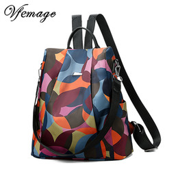 $enCountryForm.capitalKeyWord Australia - Vfemage Fashion Oxford Backpack Women Anti Theft Backpack Girls Bagpack Schoolbag For Teenagers Casual Daypack Sac A Dos Mochila Y19061004