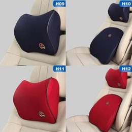 car travel head support 2019 - Car Headrest Neck Pillow Cushion for Driver Memory Foam Polyester Synthetic Fiber Seat Supports Travel Car Head Pillows
