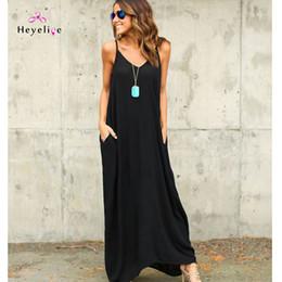 $enCountryForm.capitalKeyWord Australia - New Solid Beach Cover Up Summer Strap Dresses Vintage Bikini Cover-up Holiday Sarong Long Beach Dress Women Y190727