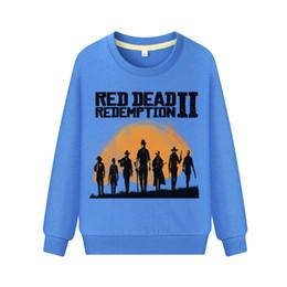 $enCountryForm.capitalKeyWord UK - Children 3D Red Dead Redemption 2 Print Long Sleeve Tshirts Boys Hot Games Sweatshirt Costume Girls Hoodies Kids Hoodie WK093