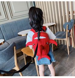 $enCountryForm.capitalKeyWord Australia - 2019 Hot Baby Shark Anti-Lost Backpack 4 Styles Children Kids Trendy Storage Bags Student Cartoon School Backpacks Birthday Gift Bag M191F