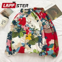 $enCountryForm.capitalKeyWord Australia - Lappster Women Flower Korean Fashion Harajuku Shirts 2019 Summer Cotton Linen Kawaii Tops Blouses Ladies Harajuku Designer Shirt