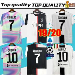 9eae0d9b396 New 2019 RONALDO JUVENTUS Soccer Jersey 18 19 20 JUVE 2020 Home Away DYBALA  HIGUAIN BUFFON Camisetas Futbol Camisas Maillot Football Shirt