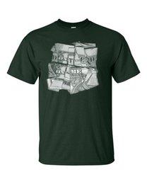 $enCountryForm.capitalKeyWord UK - Don't Tread on Me Dollar Bill Folded for Words Gun Control Men's Tee Shirt 943 T Shirts 100% Cotton Classic