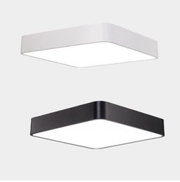 $enCountryForm.capitalKeyWord Australia - Square Ceiling Slim Panel Down Light LED 18W 24W 36W AC85-265V Living Room Aisle Bedroom LED ceiling lamp