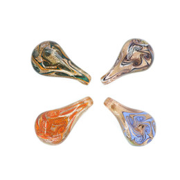 $enCountryForm.capitalKeyWord Australia - stock lampork in bulk lampwork pendant Factory Sales 12 pcs   box For Jewelry Making Diy For Necklace diy MC0039